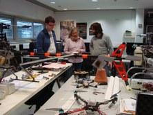 DLR researchers visit ICARUS